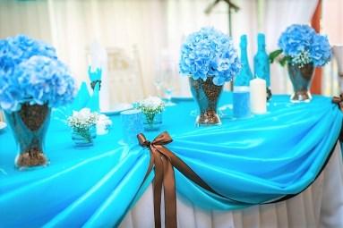 Президиум в голубом цвете