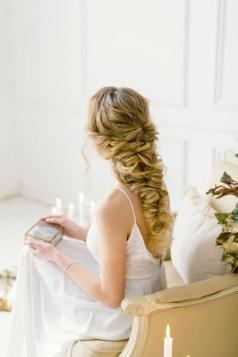 Греческая коса на выпускной бал