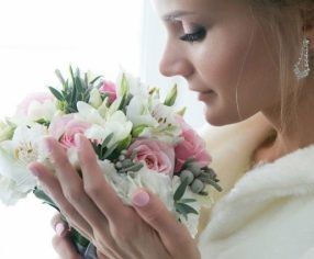 Образ невесты для изумрудной свадьбы