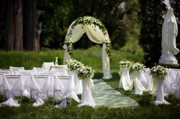Оформление арки на свадьбу Долгопрудный