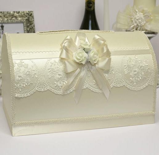 Казна на свадьбу белая