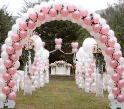 Оформление свадьбы шарами недорого Долгопрудный