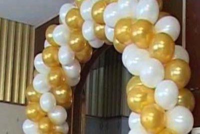 Оформление свадьбы воздушными шарами Мытищи