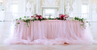 Оформление свадебного зала в цвете слоновой кости цена