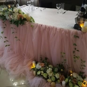 Оформление свадебного зала в коричневом цвете цена
