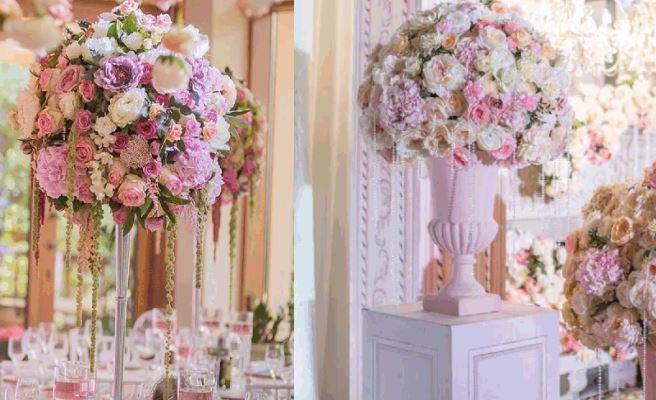 Цветы на свадебный стол Долгопрудный