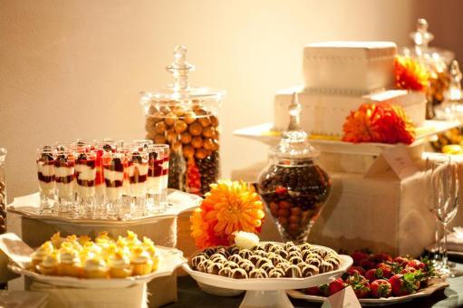 Сладости на свадебный стол