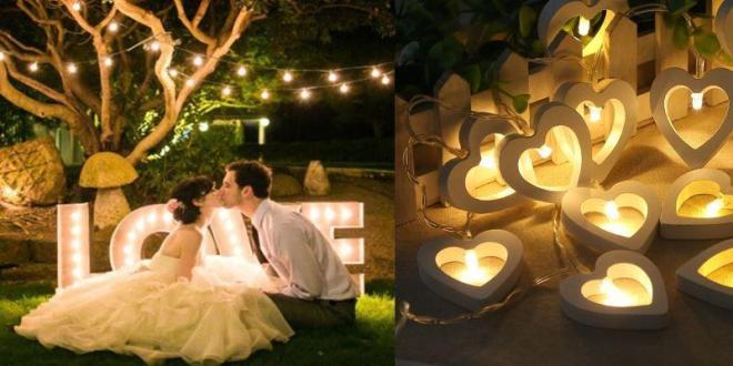 Ретро украшение свадьбы
