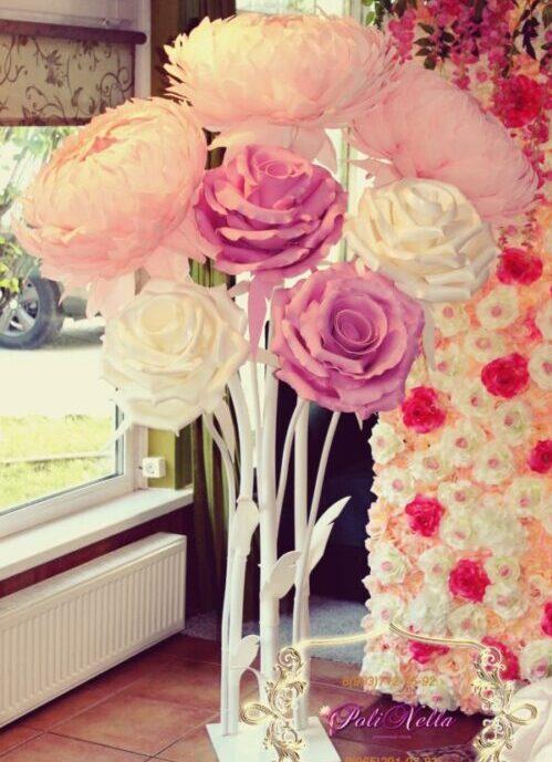 Ростовые большие цветы для фотозоны