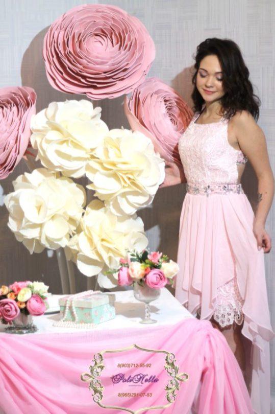 Большие красивые цветы на свадьбу