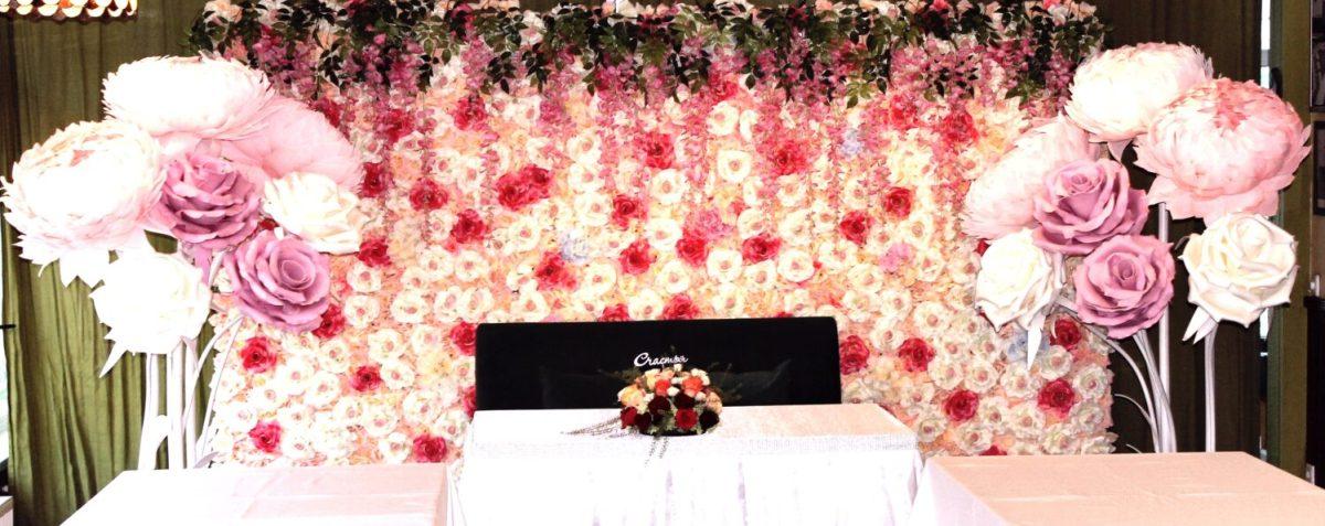 Украшение свадебного зала Дмитров