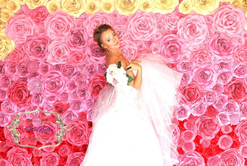 Свадебное оформление в розовом