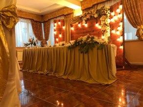 Украшение свадебного зала в стиле Лофт