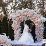 Арка на свадьбу в стиле Шик