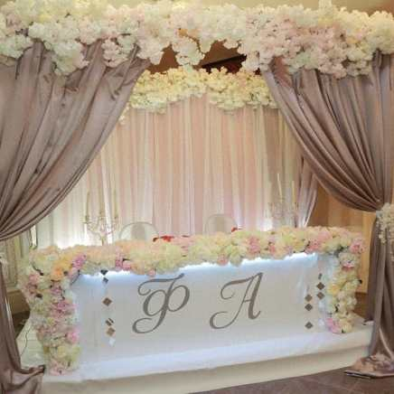 Президиум на свадьбу премиум класса