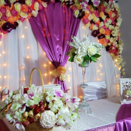 оформление зала на свадьбу Москва