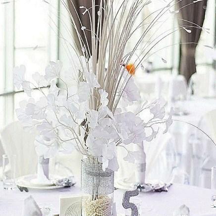 Оформление ветками Гингбо свадьбы