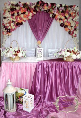 оформление стола на свадьбу с стиле Прованс Москва