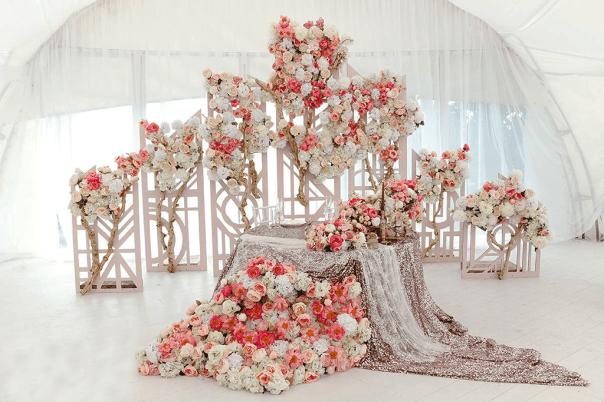 Оформление свадьбы премиум класса