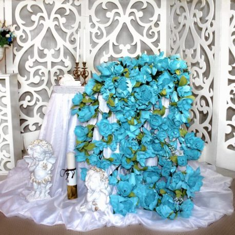Оформление свадьбы Тиффани