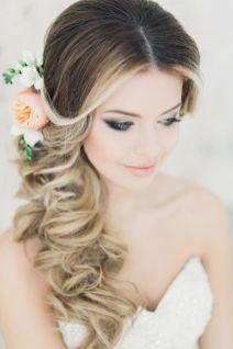 свадебная прическа на длинные волосы на дому
