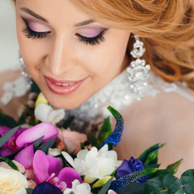 свадебный макияж на дому