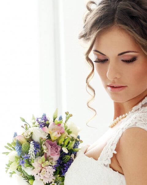 Свадебный макияж на дом Москва