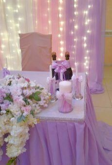 Зал на свадьбу украшение Москва