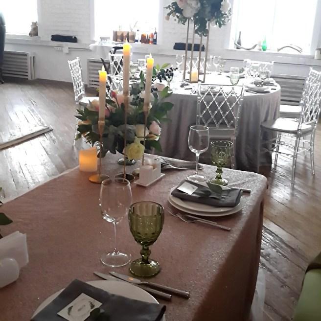Свадебный декор в стиле лофт