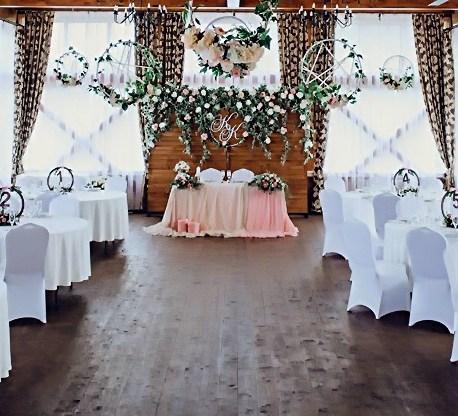 Оформление свадьбы в рустик стиле