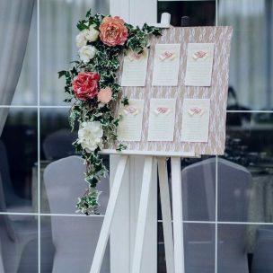 Оформление свадебного стола в стиле рустик