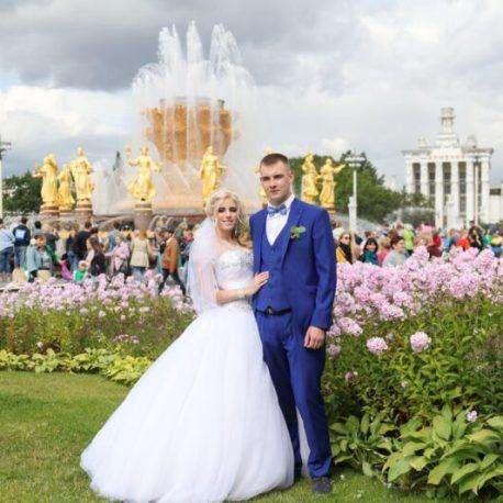 Регистрация брака в парке