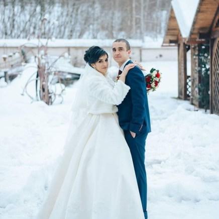 Зимняя свадьба Москва