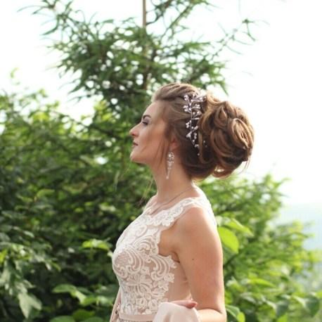 Свадебная прическа с выездом на дом