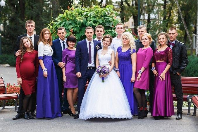 Организация свадьбы осенью Москва
