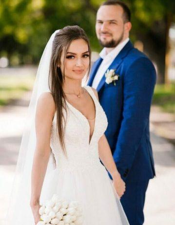 Свадьба в голубой цветовой гамме организация
