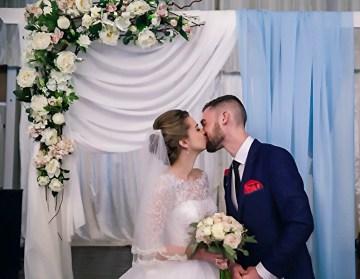 Свадебная арка для регистрации