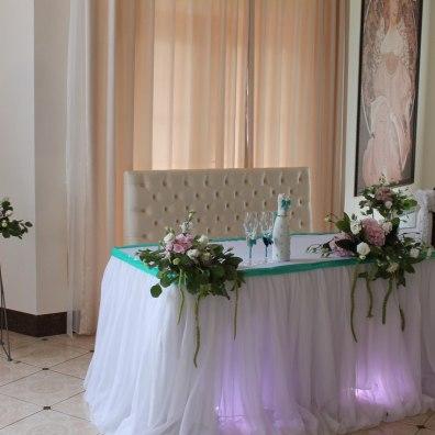 Украшенные залы на свадьбу