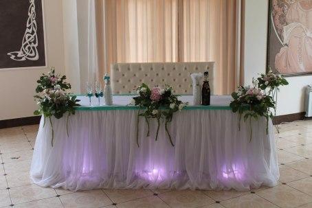 Украшенные залы на свадьбу фото