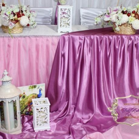 Свадебный президиум в прованском стиле