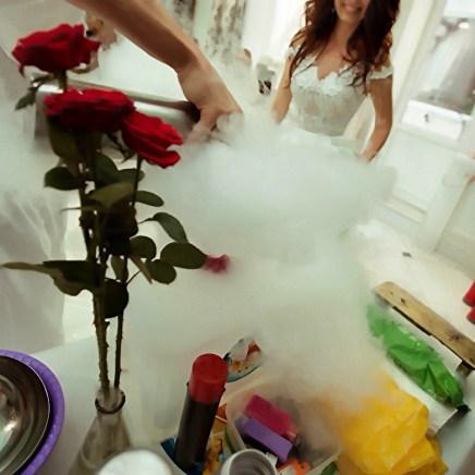 Свадебное шоу с азотом