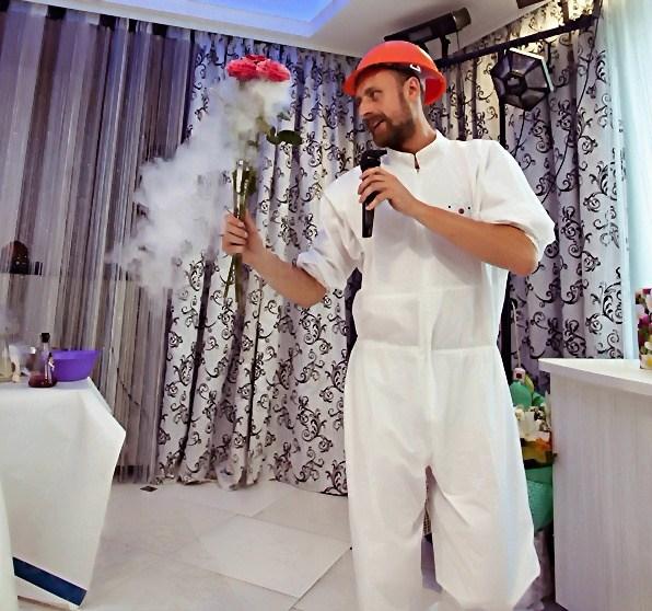 Замороженный цветок свадебное шоу