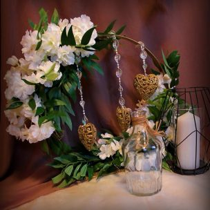 Оформление свадьбы Лофт