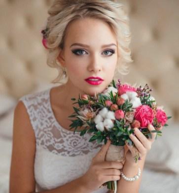 Образ невесты для свадьбы рустик