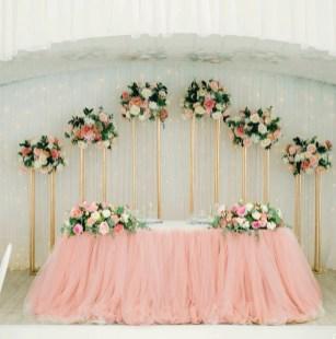 Президиум в розово-кофейном цвете
