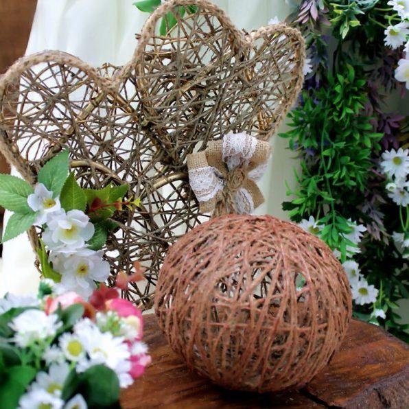 Оформление деревянных ящиков для свадьбы в стиле рустик
