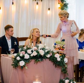 Оформление кремовой свадьбы