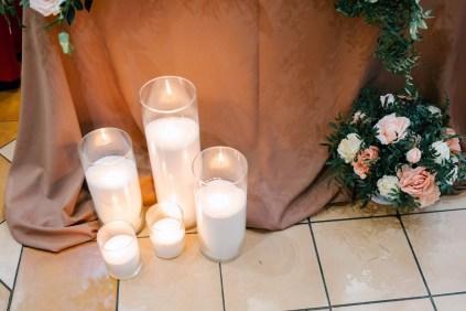 Насыпные свечи на свадьбу