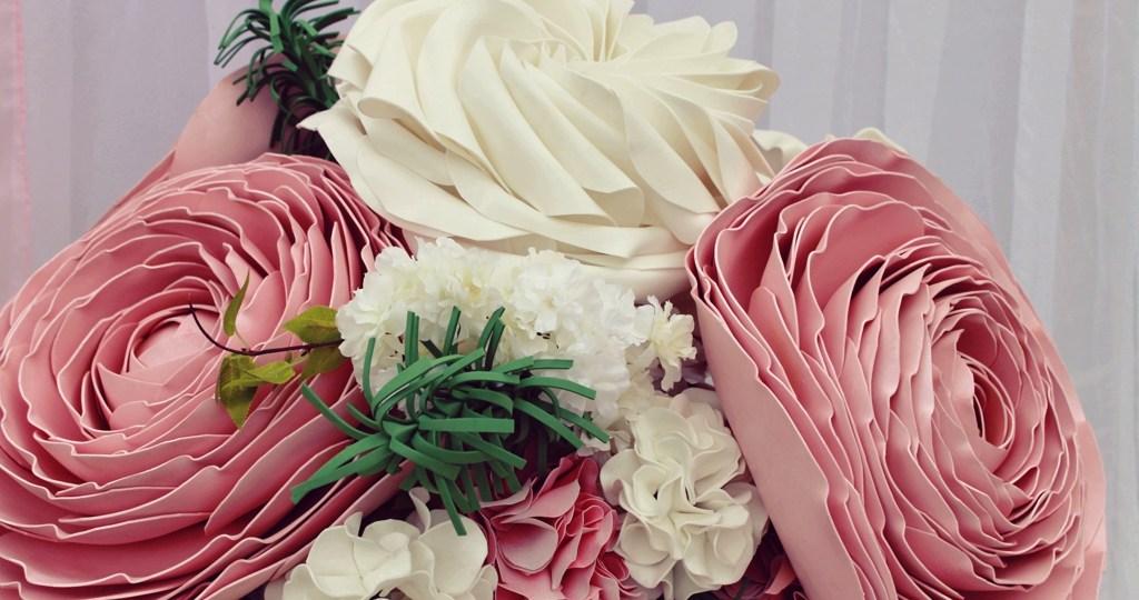 Свадьба ростовыми цветами