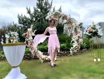 Арка круглая на свадьбу